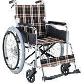 送料無料車椅子スタンダード折り畳みエアタイヤ折りたたみ介助用ブレーキマキテックEX-50自走用自走介助兼用車いす車イスくるまいす安全ベルトシートベルト病院施設自宅男性プレゼント