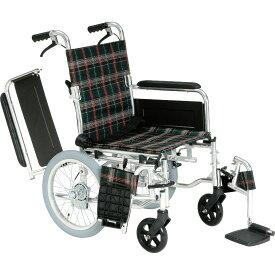 車椅子 スイングアウト 肘跳ね上げ 多機能 折り畳み 折りたたみ 使いやすい マキテック KS70 介助用 車いす 車イス くるまいす 介助ブレーキ シートベルト 家 自宅 施設 男性 プレゼント 母の日