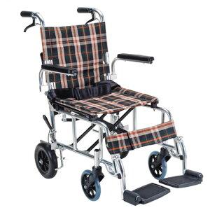 マキテック 介助用 コンパクト車椅子 ピロN PR-501   PIRO N 車いす 車イス くるまいす 軽量 折り畳み 折りたたみ 背折れ ノーパンクタイヤ 介助ブレーキ付き アルミフレーム 安全ベルト