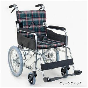 マキテック 介助用 車椅子 SMK30 | 車イス 車いす 背折れ 折り畳み 折りたたみ 背張り調整 座面クッション アルミフレーム モジュール 選べるカラー 選べる座幅