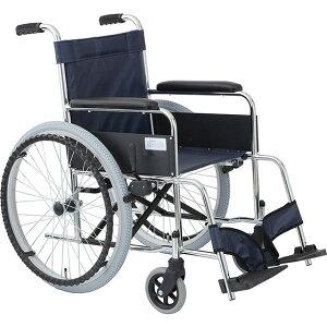 車椅子 自走式車椅子 リーズナブル ガートル掛け標準装備 ガートル棒付 [美和商事] リーズ MW-22STS 車イス/車いす/車椅子