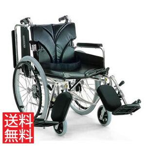 簡易調節 車椅子 エアタイヤ 自走用 送料無料 カワムラサイクル KA800シリーズ KA822-40(38・42)ELB-H モジュール 調整 調節 高床 折り畳み 22インチ エレベーティング スイングアウト スイングイン