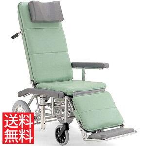 送料無料 カワムラサイクル 介助用 フルリクライニング車椅子 RR70N 介助ブレーキなし (背部・脚部)連動仕様   車いす 車イス くるまいす エアタイヤ 介助ブレーキなし 足踏み駐車ブレーキ 簡