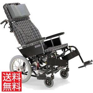 ティルト リクライニング クッション付き ハンドル高さ調節 転倒防止バー スイングアウト 移乗しやすい 車椅子 介助用 送料無料 カワムラサイクル 16インチ KX16-42N 体幹支持 背もたれ 楽な姿