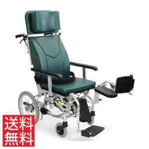 ティルト リクライニング クッション付 ラクまくら 足踏みブレーキ スイングアウト エレベーティング 移乗しやすい 車椅子 介助用 送料無料 カワムラサイクル KXL16-42EL 体幹支持 背もたれ 楽