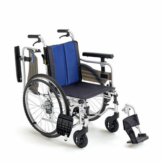 送料無料 車椅子 座面高 調整 調節 モジュール 移乗 肘跳ね上げ スイングアウト MIKI ミキ BALシリーズ BAL-5 自走用 車いす 車イス 使いやすい ノーパンク 折りたたみ 便利 定番 人気 多機能 施設 病院