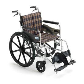 ミキ/MiKi ビッグサイズ 車椅子 KJP-2H 高座面タイプ   送料無料 自走式 自走用 ノーパンクタイヤ 折りたたみ 折り畳み 車いす 車イス 耐荷重130kg 受注生産