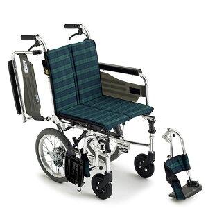 送料無料 車椅子 コンパクト 軽量 軽い 軽量車椅子 MIKI ミキ スキットシリーズ SKT-2 介助用 車イス 車いす 持ち運び 女性 スリム 小回り 家の中 廊下 折り畳み スイングアウト 跳ね上げ