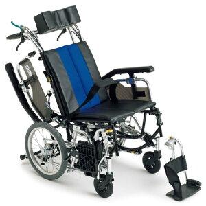 送料無料 車椅子 コンパクト ティルト リクライニング 多機能 MIKI ミキ TRシリーズ TRC-2 介助用 車イス 車いす くるまいす スイングアウト 跳ね上げ 高さ調整 背折れ
