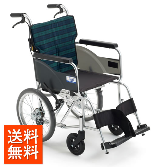送料無料 車椅子 軽量 軽い シンプル 女性 高齢者 持ち運び ノーパンク MIKI ミキ BALシリーズ BAL-8 SP 介助用 車いす 車イス 折りたたみ 使いやすい 人気 定番 スタンダード 安い プレゼント 父の日