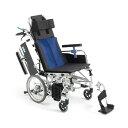 送料無料 車椅子 ティルト リクライニング コンパクト 機能充実 多機能 介助者 負担軽減 足踏みブレーキ 使いやすい シンプル 人気 定番 MIKI ミキ B...