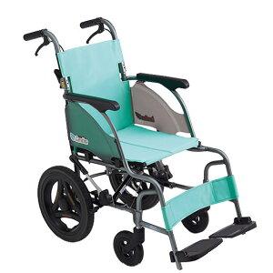 コンパクト 超軽量 スリム 車椅子 ワンハンドブレーキ 送料無料 人気 MIKI ミキ CRT-6 介助用 車いす 車イス 折りたたみ ノーパンクタイヤ 施設 病院 自宅 安い ピンク グリーン 折り畳み ハイポ