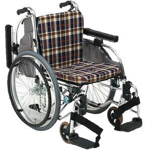 車椅子 セミモジュール モジュール クッション付 選べる座幅 シート張り調整 折り畳み 折りたたみ 介助用ブレーキ スイングアウト 肘跳ね上げ 松永製作所 ARシリーズ AR-901 自走用 自走介助