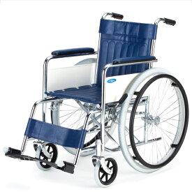 送料無料 車椅子 病院 施設 店舗 ノーパンク 日進医療器 スチール製 ND-1H スタンダード リーズナブル 自走用 車イス 車いす