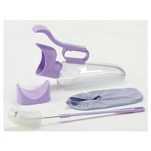 アロン化成 ユリフィット 尿器女性用自立 安寿 介護用品 排尿器 採尿器 トイレ 尿瓶 しびん