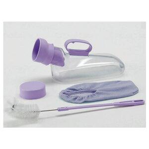 アロン化成 ユリフィット 尿器男性用 安寿 介護用品 排尿器 採尿器 トイレ 尿瓶 しびん