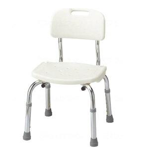 アロン化成 入浴用いす スタンダードタイプ コンパクト 背付シャワーベンチ C 高さ調節 使いやすい 535-430