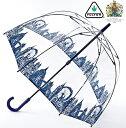 フルトン レディース 女性用 バードケージ 鳥かご ロンドンアイコン ビニール 長傘 かさ ドーム すっぽり スケルトン …