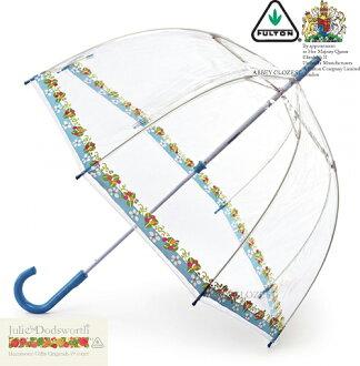 풀 톤 FULTON Julie Dodsworth우산 데자이나코라보바드케이지 잡화 엄브렐러장 우산 영국 왕실 납품업자 투명 꽃무늬 플라워 레이디스 브랜드 BirdCage Umbrella나 새장 풀 톤 부인용 여성용 영국 런던 fultonl775daisycottage 신축