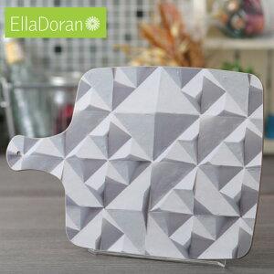 Ella Doran 英国製 カッティングボード まな板 UK デザイナー 36.5 x 25.5cm Made in UK Designer's Cutting Board Geo 幾何学模様 手作り チョッピングボード ハンドメイド デザイン エラ ドラン 子供 家 おう
