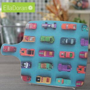 Ella Doran 英国製 カッティングボード まな板 UK デザイナー 36.5 x 25.5cm Made in UK Designer's Cutting Board Gridlock 車 カー 手作り チョッピングボード ハンドメイド デザイン エラ ドラン 子供 家 おう