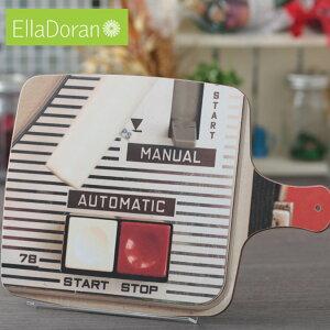 Ella Doran 英国製 カッティングボード まな板 UK デザイナー 36.5 x 25.5cm Made in UK Designer's Cutting Board Portables Automatic レコード 音楽 手作り チョッピングボード ハンドメイド デザイン エラ ドラン