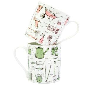 Victoria Eggs マグカップ コップ 食卓テーブル コーヒー 紅茶 イギリス 雑貨 ロンドンプレゼント vicmu10 green pink コーヒーカップ おしゃれ 食卓 食器 ティーカップ マグカップ コップ マグカップ