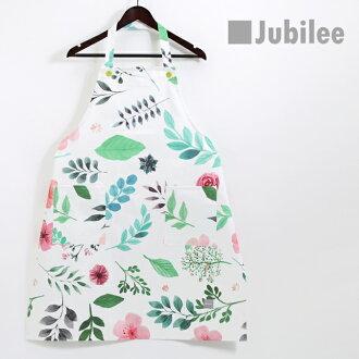 쥬비리 Jubilee 보타니카르콧톤에프롱린바렌타인 세련된가 원 좋은 레이디스 브랜드 컬러풀