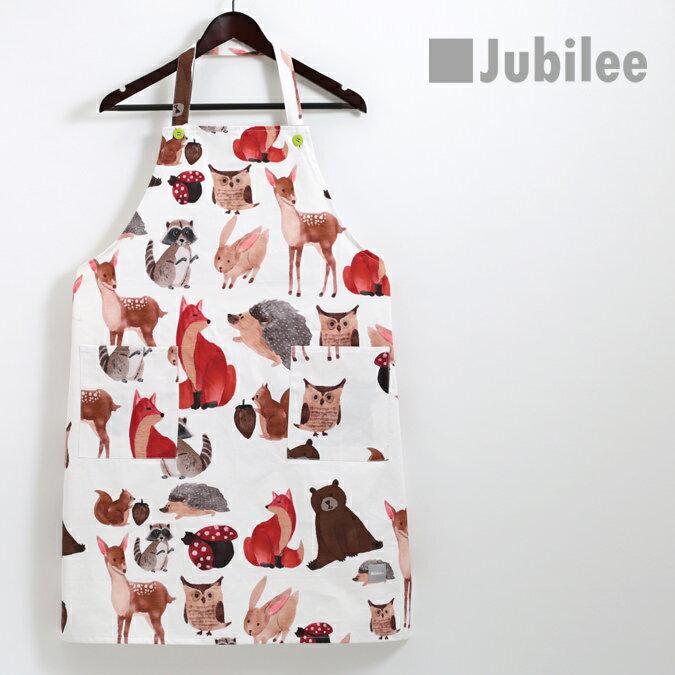 ジュビリー Jubilee ボタニカル コットン エプロン フラワーアニマル かわいい おしゃれ ブランド イギリス デザイナー 高級サテンコットン100% ギフト お祝い 引っ越し 新居 プレゼント 女性用 ホワイトデー