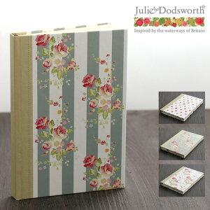 Julie Dodsworth ノートブック A5 サイズ 192ページ ジュリードッズワース 花柄 フローラル ボタニカル ブランド 結婚祝い プレゼント ギフト 新生活 新居 引越し祝い 新築 庭 子供 家 おうち 在宅