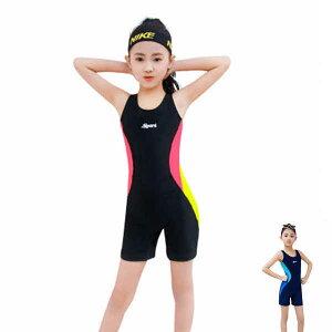 キッズ 水着 女の子 キッズ水着 子供水着 ガールズ水着 子供服 連体 水遊び 体型カバー スイミング かわいい 小学校 幼稚園 保育園 プール 競泳水着 トレーニング 練習用 海 海水浴 動きやす