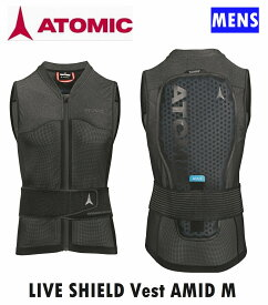 2021 ATOMIC LIVE SHIELD Vest AMID MEN ライブシールドベスト アミッド プロテクター ベスト 脊髄プロテク