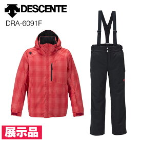 展示品 未使用 旧モデル DESCENTE スキーウエア 上下セット デサント FUN スーツ DRA-6091F スキー ウェア