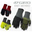 旧モデル処分 GIRO ジロ 自転車 グローブ KNIT MERINO WOOL RT7052679 ニット メリノ ウール 冬用グローブ