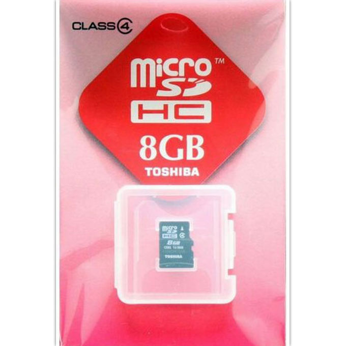 マイクロSDカード8G SD−ME008GS 1個