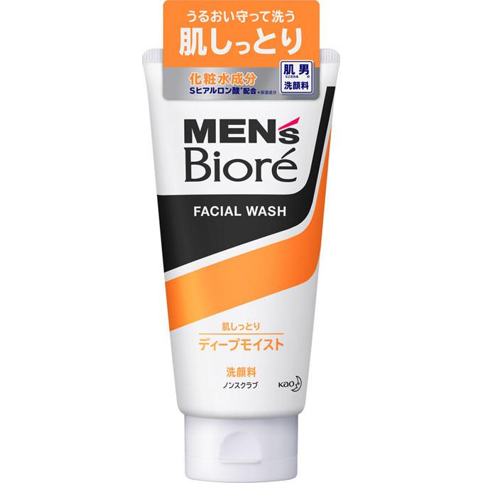 メンズビオレ ディープモイスト洗顔 130g