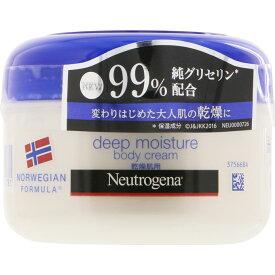 ニュートロジーナ ノルウェー フォーミュラ ディープモイスチャー ボディクリーム 乾燥肌用・微香性 200mL ウェルパーク