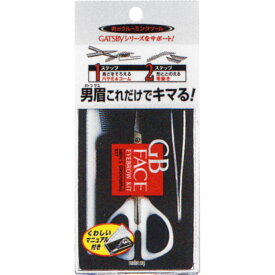 GB メンズ アイブローキット 1セット ウェルパーク
