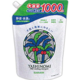 ヤシノミ洗剤 詰替用 1000mL ウェルパーク
