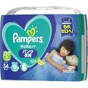 パンパース さらさらケア パンツ夜用 スーパージャンボ ビッグ 34枚 ウェルパーク