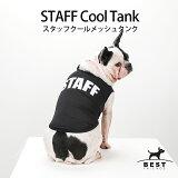 STAFFクールメッシュタンク/S,M,L,XL,XXL【犬服犬の服ドッグウェア】【夏タンクトップノースリーブスタッフクールメッシュ】