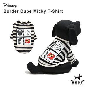 【ディズニー】ボーダーキューブミッキーTS / S,M...