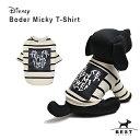 【ディズニー】ボーダー ミッキーTS / S,M,L,XL 犬 服 犬の服 ドッグウェア Tシャツ 綿100% ディズニー disney 犬 ボ…