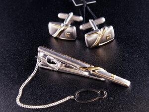 DAKS ダックス  DC10020-DT5020 カフスタイピン ネクタイピン ネクタイ タイピン タイバー カフス スーツ ビジネス フォーマル 社会人 ブランド アクセサリー 男性 メンズ ギフト プレゼント