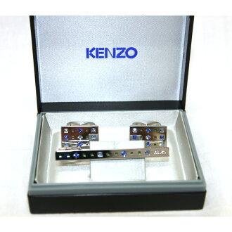 KENZO(kenzo)袖口&領帶別針安排日本製造正規的物品KC10228-KT5308