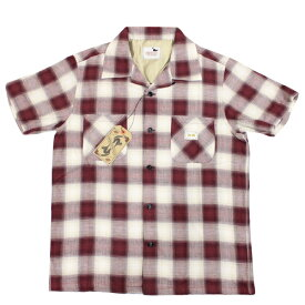 GLAD HAND GANGSTERVILLE ギャングスタービル メンズ 半袖 シャツ JAMES - S/S SHIRTS 【GSV18SS24】 チェック柄