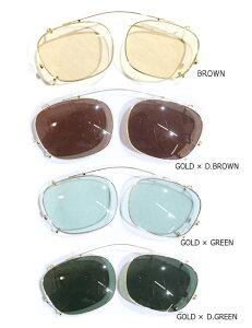 丹羽雅彦×GLADHAND ゴールド クリップオン 【オーナメント有】J-IMMY GLADHAND CLIP ON ORNAMENT GOLD JIMMY GLASSES