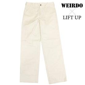 glad hand WEIRDO × LIFT UP W&L【リフトアップ】ワークパンツ チノパン アイボリー メンズ 17AW13