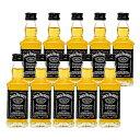 【お中元ギフト】【送料無料】ウイスキー ミニチュア瓶 ジャックダニエル 50ml×10本セット【正規品】【ギフト 酒】