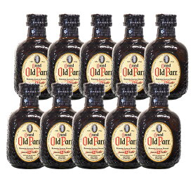 【ギフト】【送料無料】ウイスキー ミニチュア瓶 オールドパー12年 50ml×10本セット【正規品】【ギフト 酒】